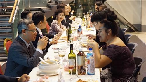 107學年度蘭陽校園High Table Dinner–全住宿書院「新聲」餐會