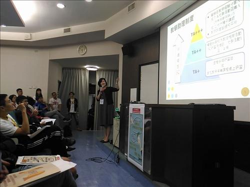 教學助理制度說明-學生學習發展組何俐安組長