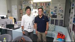 化學系陳志欣教授依據「高教深耕校外觀摩參與」前往日本九州參訪,進行學術交流觀摩。