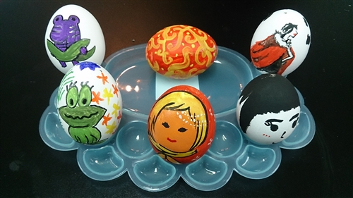 妝點復活節彩蛋