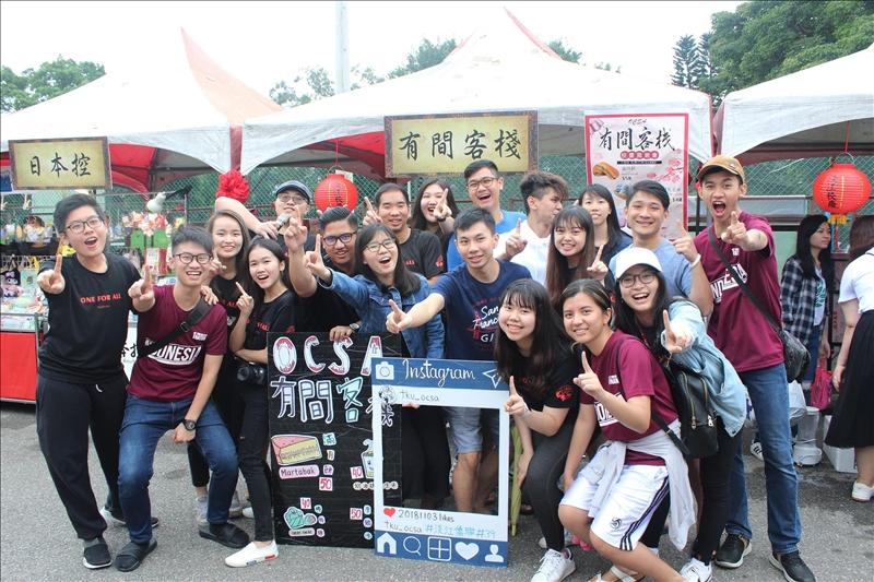 淡水校園校慶園遊會,同學開心嗨翻天!