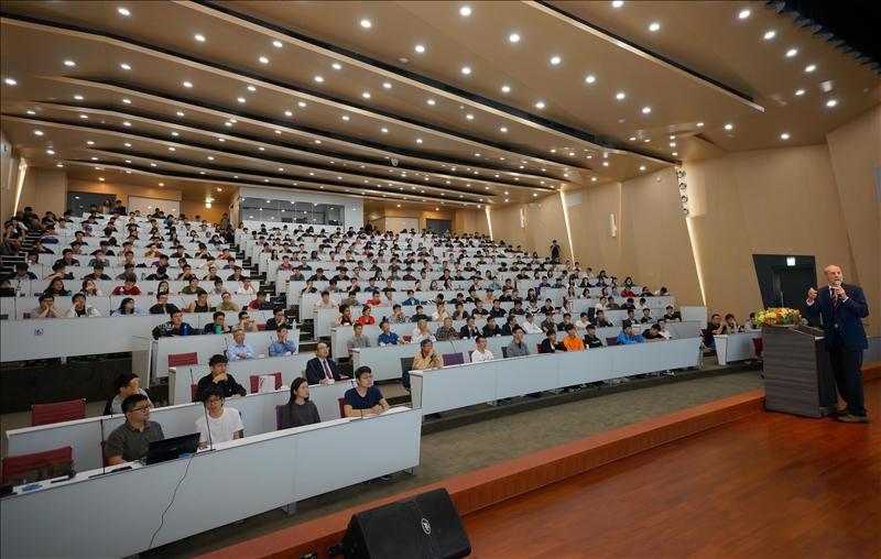 107年10月23日下午2時在淡江大學淡水校園守謙國際會議中心舉行