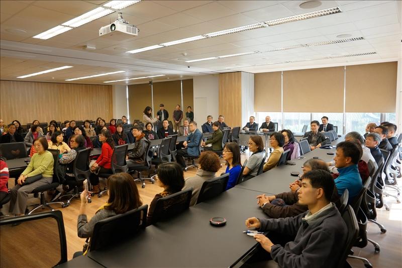 「蘭陽副校長布達典禮」計有近80位校內主管及同仁參加