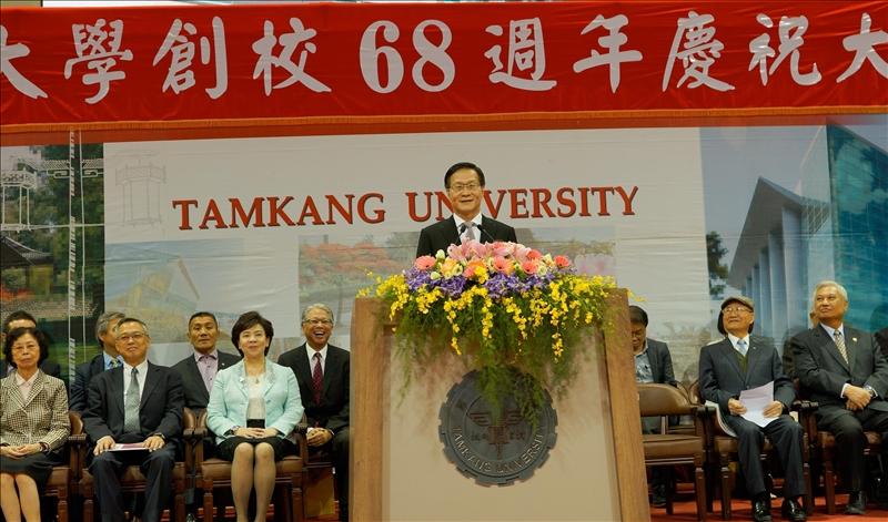 68週年校慶慶祝大會-葛煥昭校長致詞