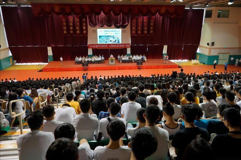 開學典禮之會場(2)