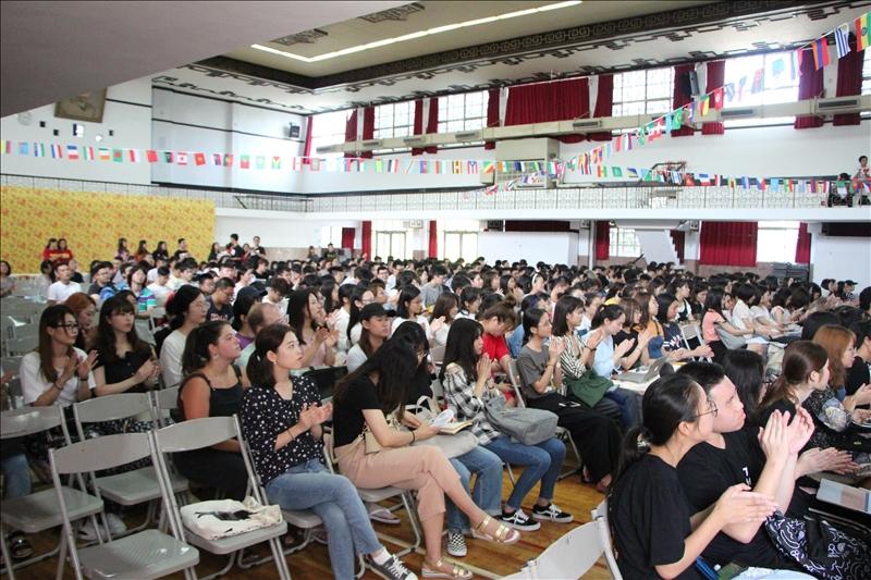 107學年度境外新生入學輔導講習會場