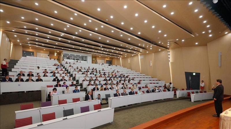 淡江大學世界校友會聯合會會員大會會場(2)