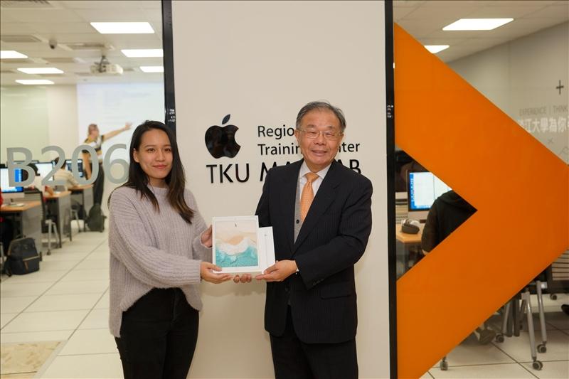 淡江「Apple區域教育培訓中心」揭牌-北台灣第1所APPLE RTC