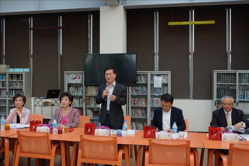 第163次行政會議,由葛煥昭校長主持。