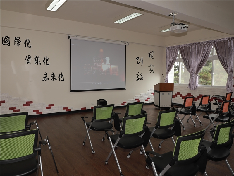 「剛毅學園」教室之1(軍訓室拍攝)