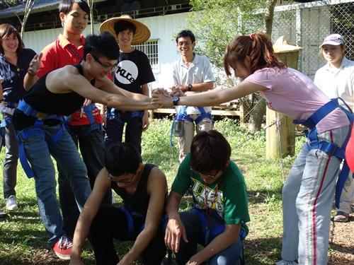 98寒假柬埔寨服務學習團服務員培訓(一)---渴望凝聚