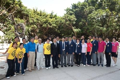 香港中文大學體育部蒞校參訪