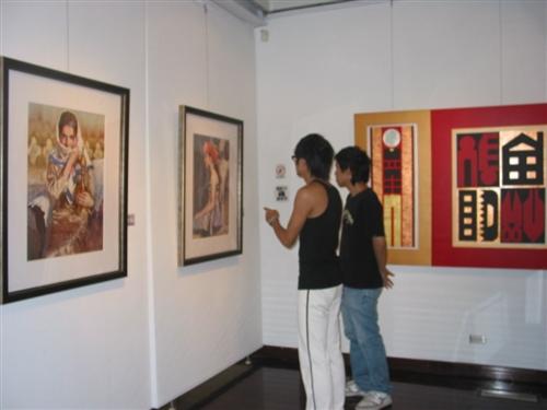 「亞洲當代繪畫聯盟展」自5月至7月底在文錙藝術中心展出。