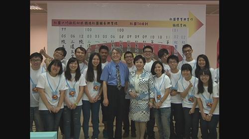 學務處舉辦「100學年度社團實習與實作課程成果展」。