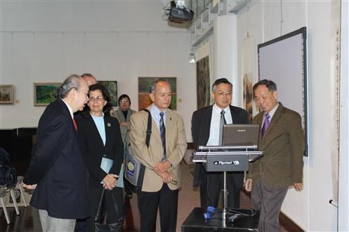 美國姊妹校舊金山州立大學校長等一行4人蒞校參訪。