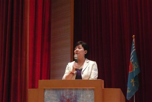 人力資源處舉辦「101學年度新任系所主管研習會」。