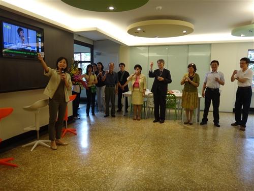 學務處正式啟用「新境‧心淨學務樂活茶會」新園地。