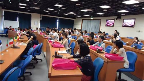 「第四屆歐洲聯盟夏季研習班:歐洲模式的典範」與「第一屆俄羅斯文化與社會體驗夏季研習班」在淡水校園舉行。