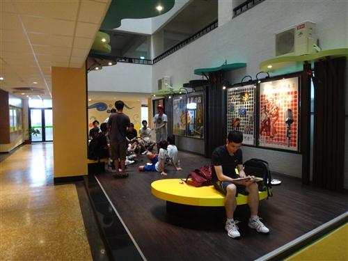學務處正式啟用「新境‧心淨學務樂活」新園地。