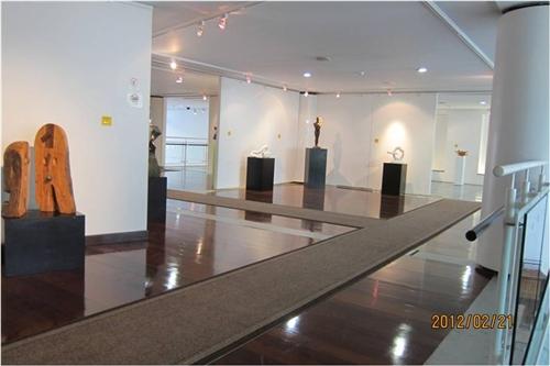 文錙藝術中心舉辦《雕塑與環境的對話》。