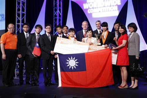 運輸管理學系同學葉致璋榮獲世界冠軍!