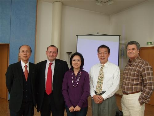 外語學院代表團赴法進行學術交流與校友聯誼活動。