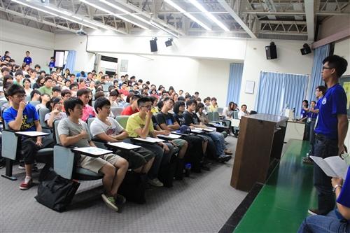 鍛鍊社團CEO,本校舉辦「淡海同舟」社團負責人研習會。