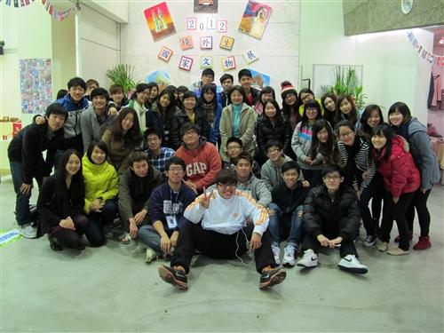 淡江大學2012年境外生國家文物展