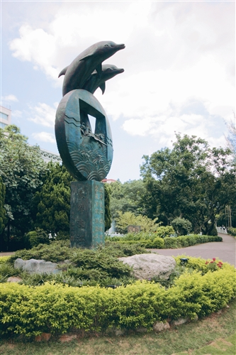 海豚吉祥物里程碑