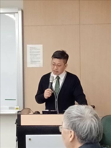 文化國小蘇穎群校長分享跨域課程的經驗