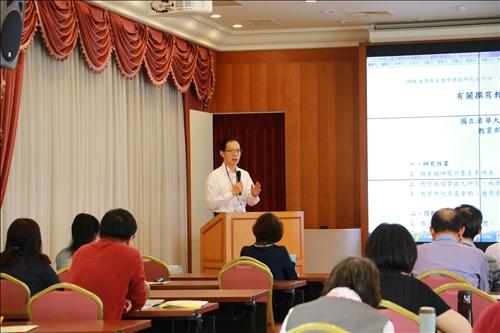 專題報告(二)由沈宗瑞教授主講