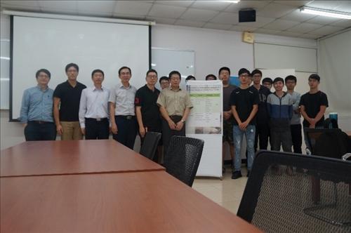 107年度 國外教授來訪學術演講「Application of wireless power transfer for smart agriculture」演講
