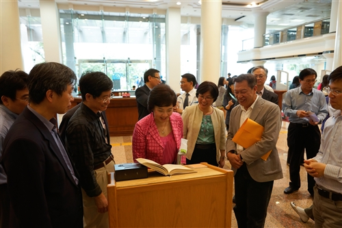 覺生紀念圖書館舉辦世界閱讀日系列活動:「閱讀.行旅.愛分享」。