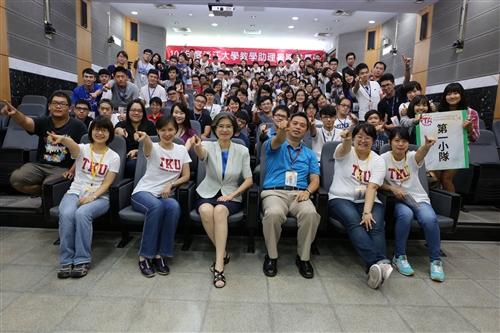 學習與教學中心舉辦「教學助理暑期成長營邁向TA+」活動。