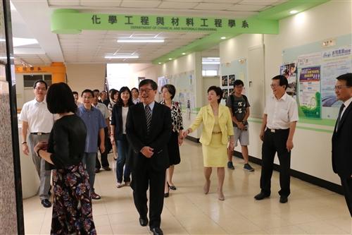 工學大樓整建竣工暨工學院教師精進社群茶話會。