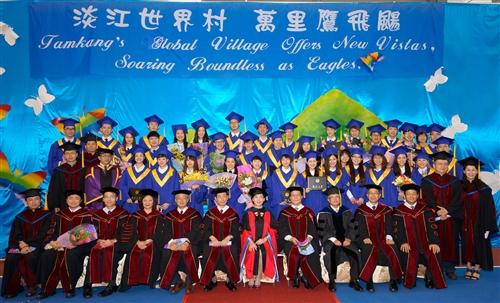 蘭陽校園舉行第7屆畢業典禮。