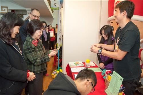 本校與新北市政府聯合舉辦2015年校園徵才博覽會。