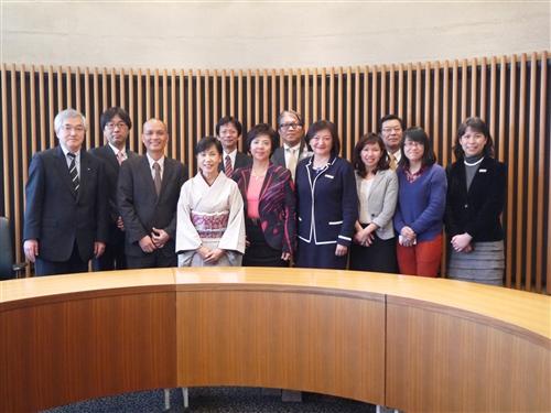 張校長應邀赴日本姊妹校法政大學發表專題演講。