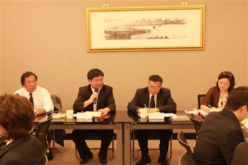 山東建築大學訪問團王崇杰校長等一行5人蒞校訪問
