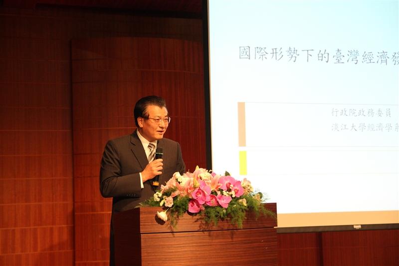 本校學術副校長虞國興進行開場致詞。