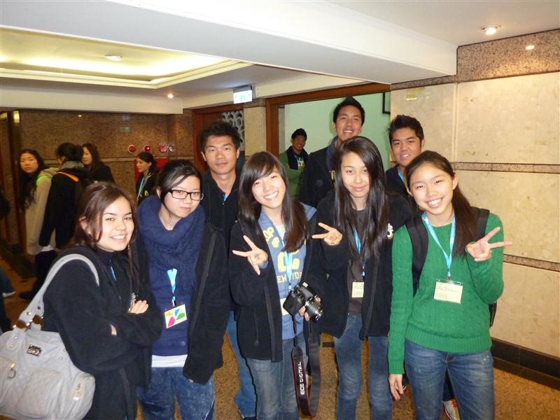 本校承辦海外華裔青年臺灣觀摩團體驗福爾摩沙風情活動。
