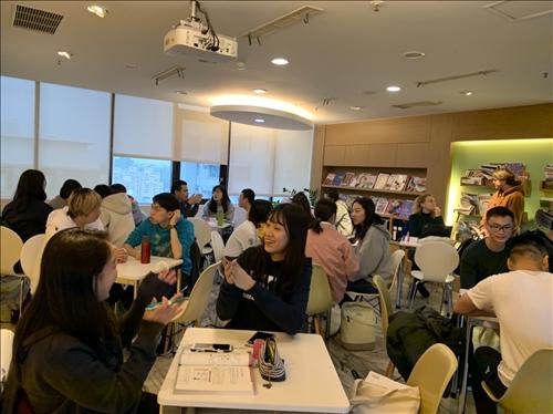108學年度第1學期 Chat Corner外語交流活動