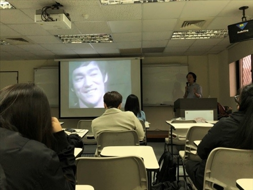 「數位藝術於業界之發展應用(一)」演講