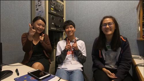 訪問來自日本的鈴木隆宏同學