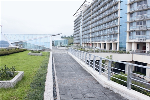 蘭陽校園宿舍平台