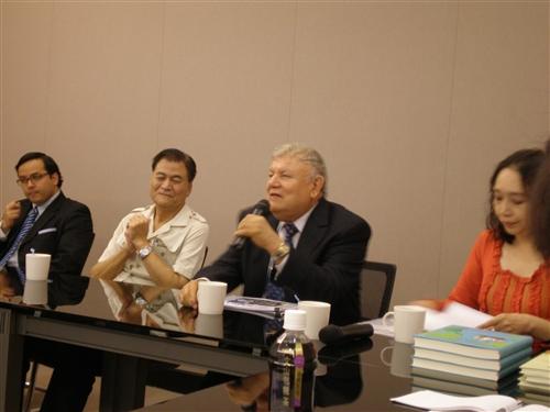 尼加拉瓜駐華大使演講
