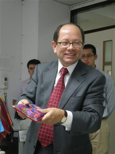 瓜地馬拉駐華大使演講
