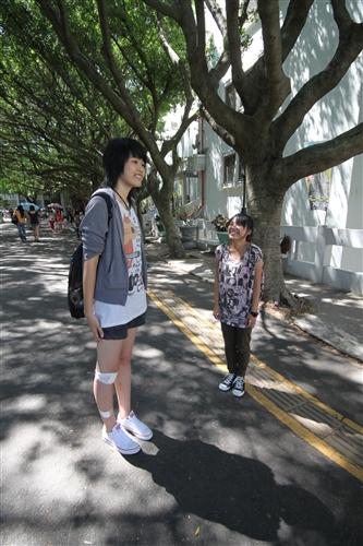 大樹女孩劉美岑:交朋友,身高不是距離!