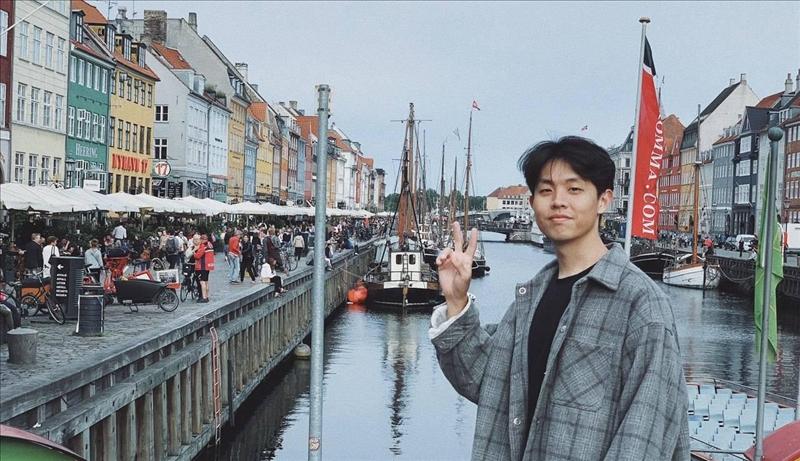 資管系校友吳哲耘成功申請到歐盟獎學金,預計至歐洲學校就讀雙學位,並至企業實習。(圖/吳哲耘提供)