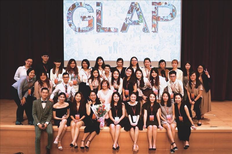 英美語言文化學系全英語學士班舉辦第三屆「全球在地行動實踐計畫」成果發表會。(圖/取自GLAP 淡江大學全球在地行動實踐計畫臉書專頁)